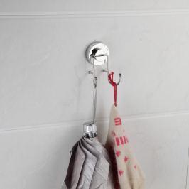 Cârlig dublu pentru prosoape cu montare fără găurire ZOSO Double
