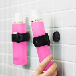 Set 2 suporturi magnetic pentru șampon și gel de duș Reenbergs, negru
