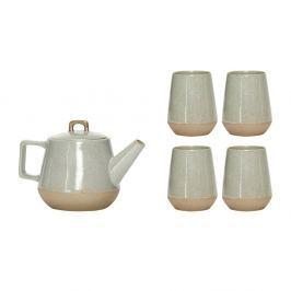 Set ceaini cu 4 ceşti Hübsch Martha