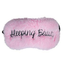 Mască de dormit Tri-Coastal Design Sleeping Beauty, roz deschis