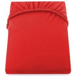 Cearșaf de pat DecoKing Amber Collection, 200-220 x 200 cm, roşu