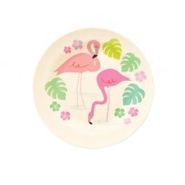 Tavă din bambus Rex London Flamingo Bay