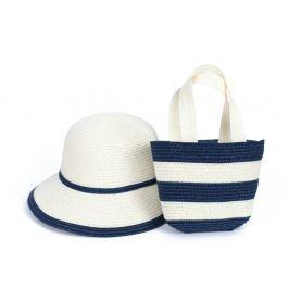 Set pălărie și geantă Art of Polo Zebra