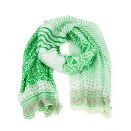 Eșarfă Art of Polo Iris Green, verde