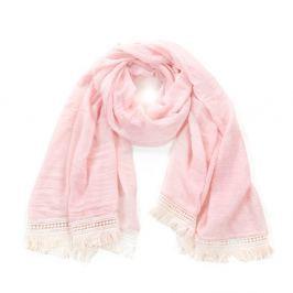 Eșarfă Art of Polo Romance, roz