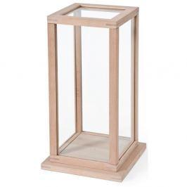 Cutie / vitrină din lemn Wireworks Treasure Trove, L