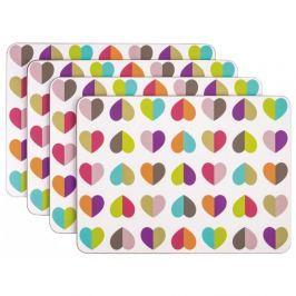 Set 4 suporturi pentru farfurii Navigate Confetti