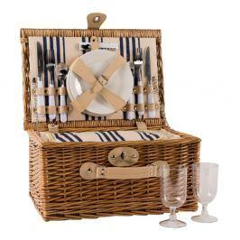 Coș picnic, echipament pentru 2 persoane Navigate Picnic