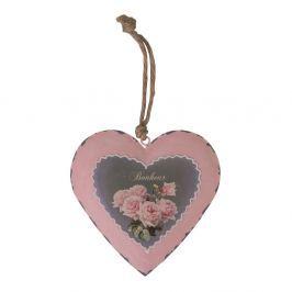 Inimă decorativă Antic Line Bonheur
