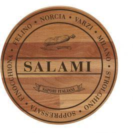 Tocător din lemn de fag Bisetti Broad Salami, 30 cm