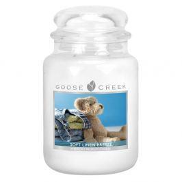 Lumânare parfumată în recipient de sticlă Goose Creek Lenjerie curată, 0,68 kg