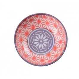 Bol din porțelan Tokyo Design Studio Star, ⌀ 9,5 cm, roșu