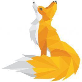 Autocolant Ambiance Origami Foxie
