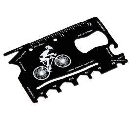 Card multifuncțional în suport de piele Rex London Le Bicycle