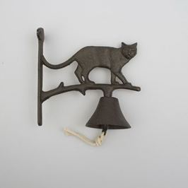 Clopot de perete din fontă Dakls Cat