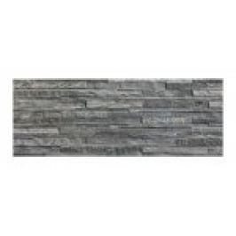 GRESIE/FAIANTA PORTELANATA , MURETTO ANTRACITA ,18.6X56cm