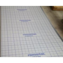 ROLA TACKER CU INSERTIE TEXTILA NEMETALIZATA, EPS 80, 10X1M, 35MM