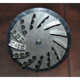 VENTILATOR GAZE ARSE, BPA-O 225, PT. CAZAN INTEGRA ITG 70 - 100KW
