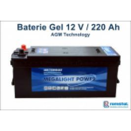 BATERIE GEL 12V/220AH MEGALIGHT AGM