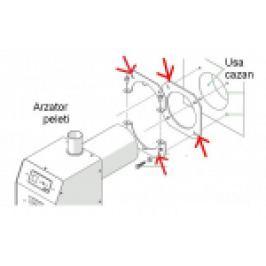 KIT CONEXIUNE ARZATOR PELETI PT CAZAN OTEL ROMSTAL VISION 50 KW