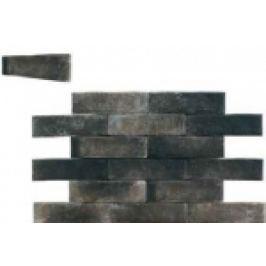 GRESIE BRICKWALL, PORTELANATA, SATINATA, GRAFITO 7X28 CM