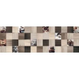 FAIANTA TIP DECOR ARCE TOFFEE GRID 25x75 CM