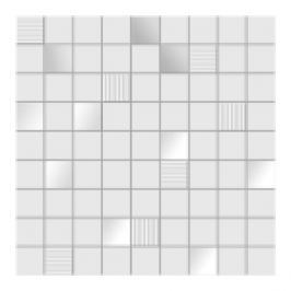 MOZAIC INSPIRE WHITE 31,6X31,6 CM