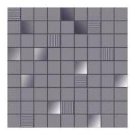 MOZAIC INSPIRE GREY 31,6X31,6 CM