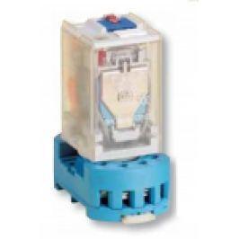 RELEU INDUSTRIAL DE PUTERE 230V AC 10A 2XCO TIP RT08