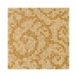 MOZAIC FOGLIA GOLD ORO/NOCE 39.4X39.4 CM