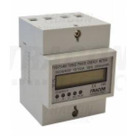 CONTOR ELECTIC TRIFAZAT MASURARE DIRECTA LCD 100A