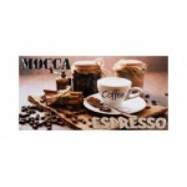 PLACA PENTRU PERETE LEGEND COFFE DECOR 25X50 CM