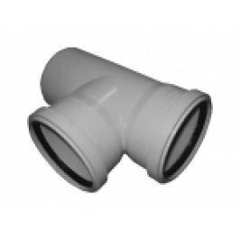 RAMIFICATIE PVC FONOABSORBANTA 4silence 90° D.110x110mm