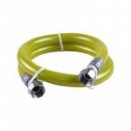 RACORD GAZ INOX FLEXIBIL-NEEXTENS., CU FOLIE-PROTECTIE (EN14800) DN.15 1/2Fx1/2F L.500mm