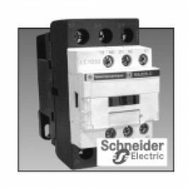 CONTACTOR 3P UB=24V AC LC1D 9A 4KW 1NI+1ND