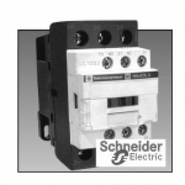 CONTACTOR 3P UB=230V AC LC1D 25A 11KW 1NI+1ND