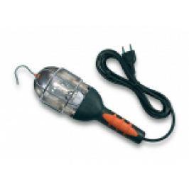 LAMPA DE LUCRU 60W SOCLU E27 ,CABLU 2X0.75MMP , LUNGIME 10MT CU INTRERUPATOR PE CABLU