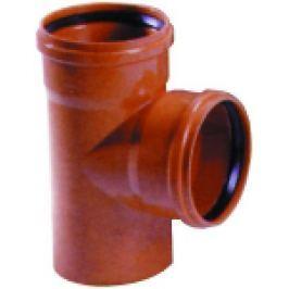 RAMIFICATIE PVC CU GARNITURA PT CANALIZARE LA 87 GRD D.125x125mm