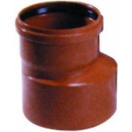 REDUCTIE PVC CU GARNITURA PT CANALIZARE D.125x110mm