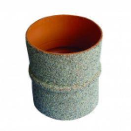 PIESA PVC DE TRECERE PRIN BETON PT CAMINE CANALIZARE, L=240mm, D.125mm
