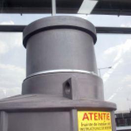 PIESA SUPERIOARA PT REGLARE INALTIME CAMIN PEHD V 100 - 600mm