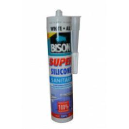SILICON SANITAR-SUPER 'BISON' 280 ml. ALB