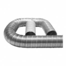 TUB FLEXIBIL DIN ALUMINIU LUNGIME 1-3 METRI D.63