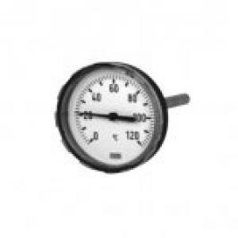 "TERMOMETRU BIMETAL, D63,G1/2"", TEACA 45mm, 0-120 grd"