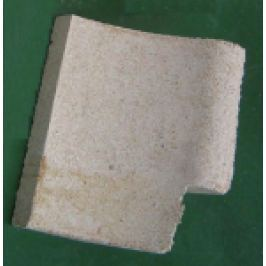 CERAMICA REFRACTARA FOCAR TIP L (2546P, dr) PT. CAZAN GAZEIFIC. ORLAN 25,40kW, 252x160x176(30)m