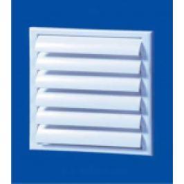 GRILA PVC CU JALUZELE GRAVITATIONALE, 250X250MM, RACORD AJUSTABIL100-150 MM