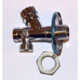 ROBINET SUBLAVOAR CU VENTIL, FILTRU SI ROZETA 1/2 FE X 3/8 x 10 mm