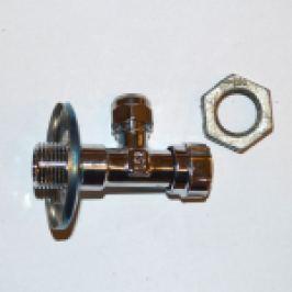 ROBINET SUBLAVOAR CU VENTIL SI ROZETA 1/2 FE X 3/8 x 10 mm