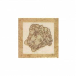 DECOR PALACE TOZZETTO MEDUSA BEIGE 2.8x2.8cm