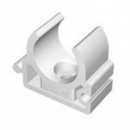 COLIER SIMPLU DIN PLASTIC PT. TEVI PPR (SET 10 BUC) D.25mm